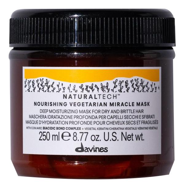 Купить Интенсивно-питающая маска для волос Вегетарианское чудо Natural Tech Nourishing Vegetarian Miracle Mask 250мл, Davines