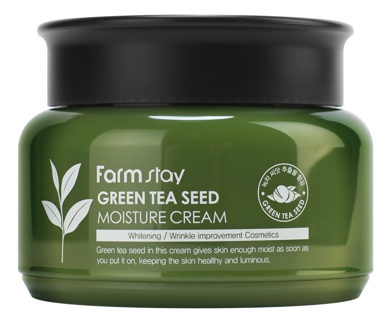 Увлажняющий крем для лица Green Tea Seed Moisture Cream 100мл chi luxury black seed oil curl defining cream gel