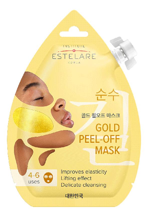Маска-пленка для лица контурирующая Gold Peel-Off Mask 20мл пленка