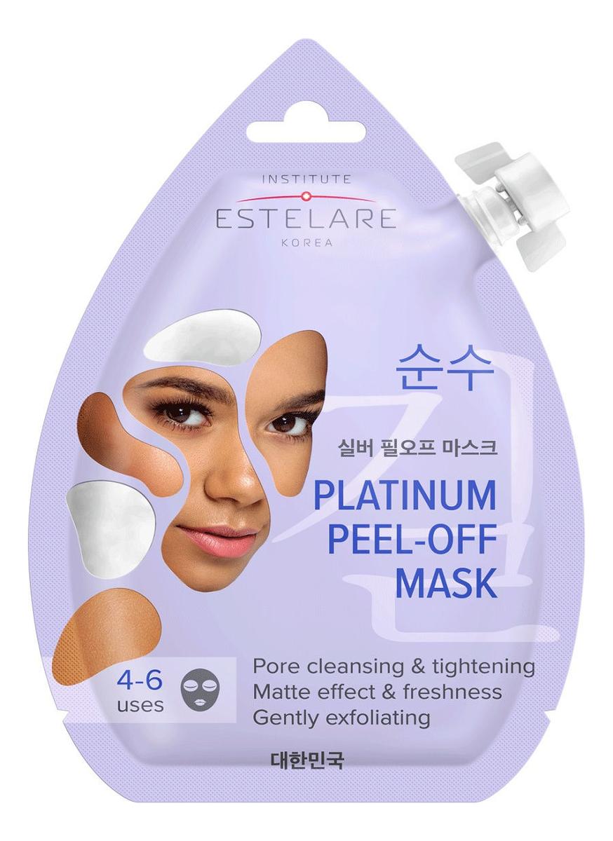 Фото - Маска-пленка для лица матирующая Platinum Peel-Off Mask 20мл маска пленка для лица с бриллиантовой пудрой diamond peel off mask 3 7г