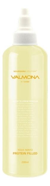 Купить Маска-филлер для волос питательная Valmona Yolk-Mayo Protein Filled 200мл, Evas Cosmetics
