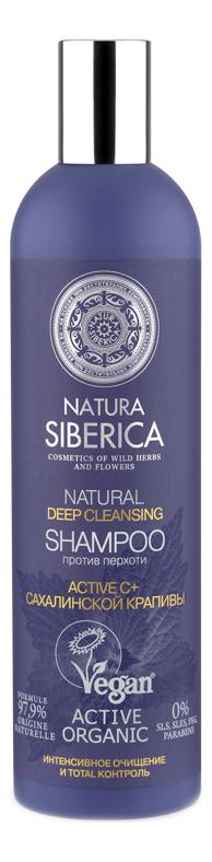 Шампунь для волос против перхоти Natural Deep Cleansing Shampoo 400мл deep cleansing shampoo
