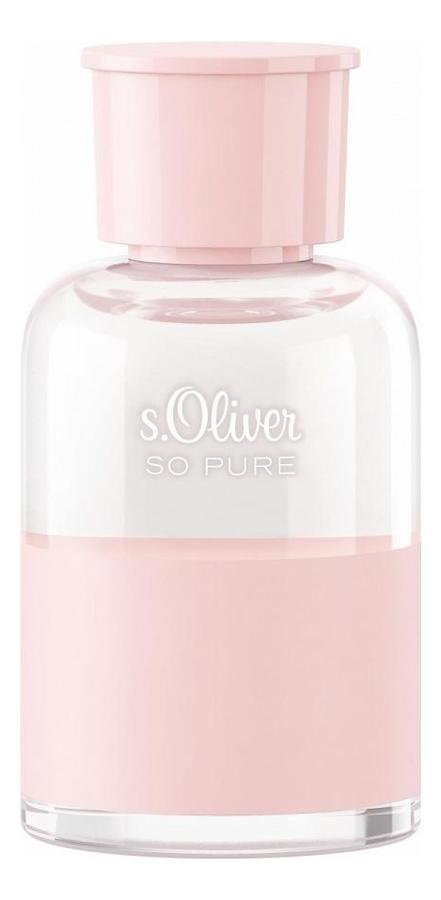 S.Oliver So Pure Women: туалетная вода 50мл тестер