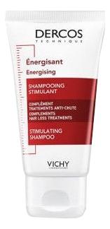Тонизирующий шампунь для волос Dercos Energising: Шампунь 50мл vichy dercos тонизирующий кондиционер