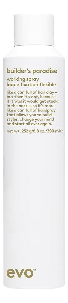 Спрей-лак для волос Builder's Paradise Working Spray: Спрей-лак 300мл