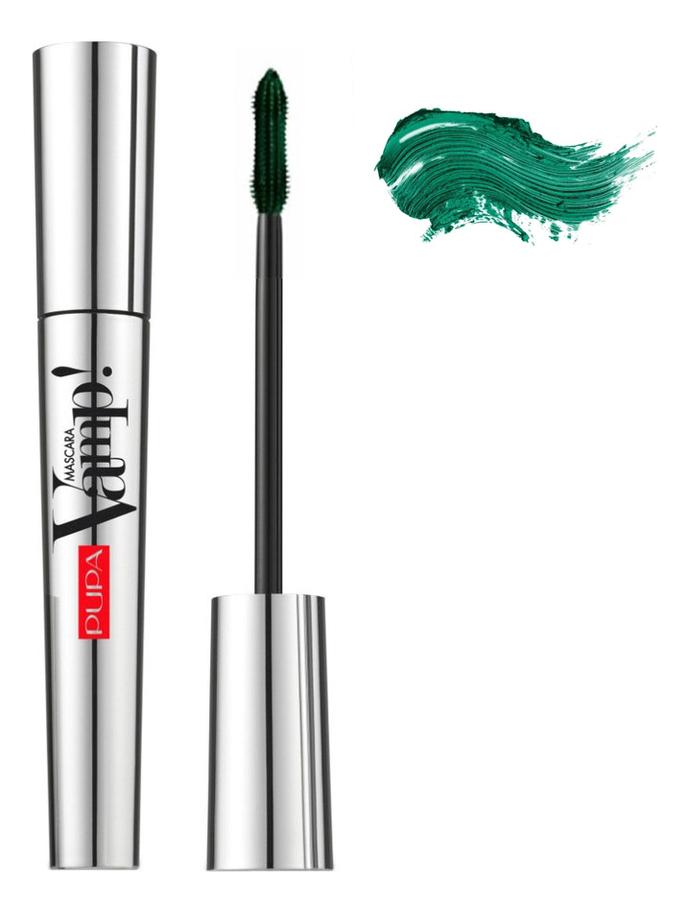 Тушь для ресниц Vamp! Mascara 9мл: 504 Темно-зеленый pupa тушь для ресниц ultraflex mascara 01 черный