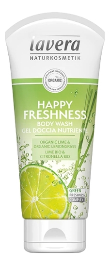 Фото - Освежающий гель для душа Happy Freshness Body Wash 200мл нежный гель для купания newborn pure purifying body wash 200мл