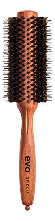 Круглая щетка для волос с натуральной щетиной Bruce Natural Bristle Radial Brush: Щетка 28мм