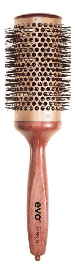 Керамическая круглая термощетка для волос Hank Ceramic Vented Radial Brush: Термощетка 52мм