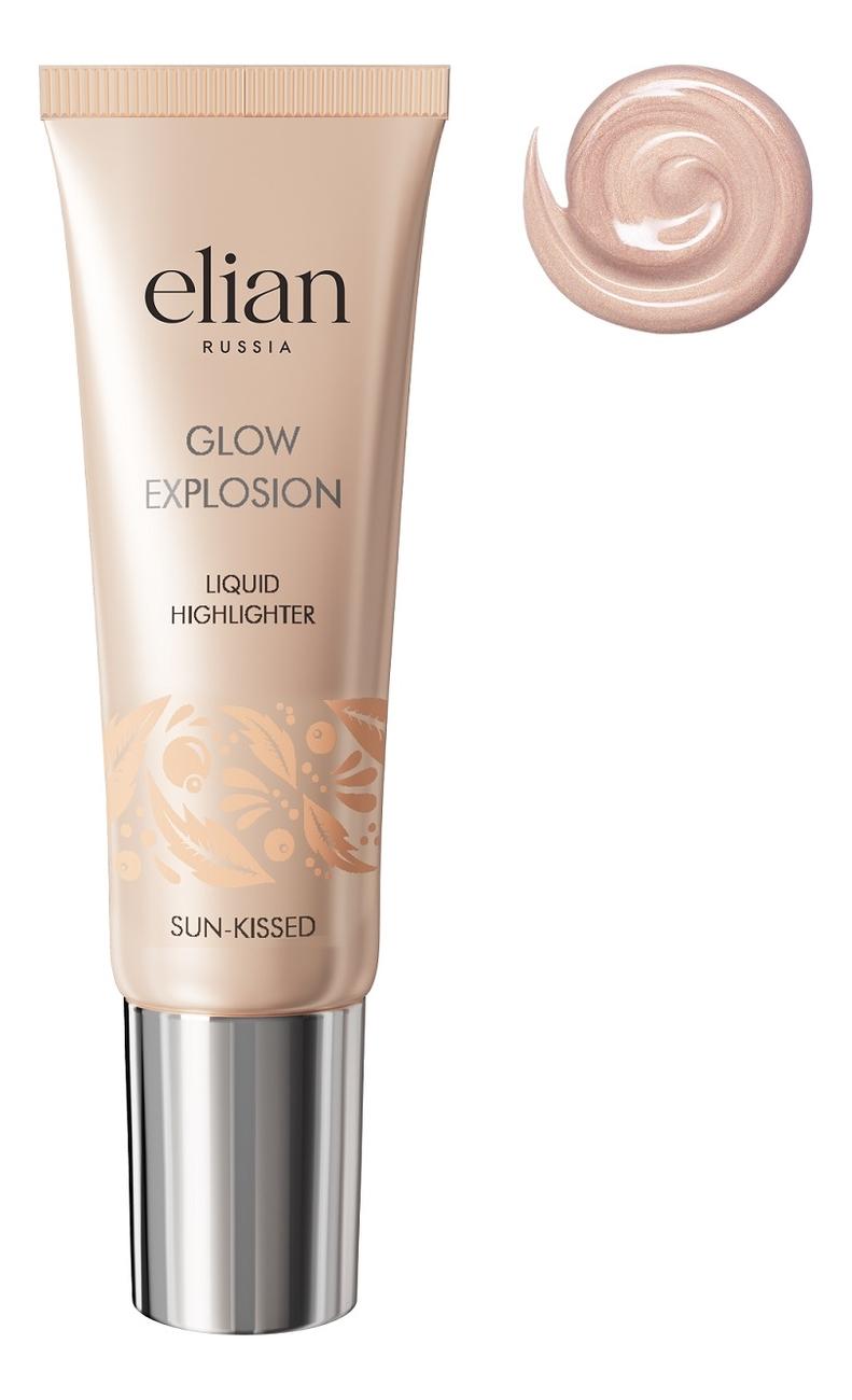 Купить Жидкий хайлайтер для лица Glow Explosion Liquid Highlighter: Sun-Kissed, Elian Russia