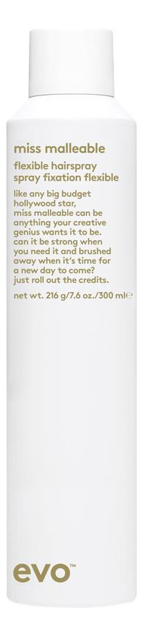 Лак для волос Miss Malleable Flexibile Hairspray 300мл