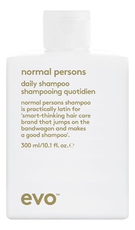Шампунь для восстановления баланса кожи головы Normal Persons Daily Shampoo 300мл цена 2017