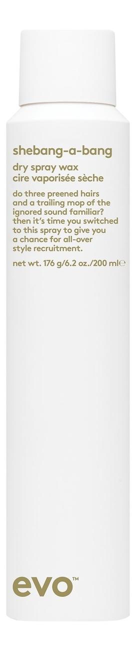 Купить Сухой спрей-воск для укладки волос Shebang-A-Bang Dry Spray Wax 200мл: Спрей-воск 200мл, evo