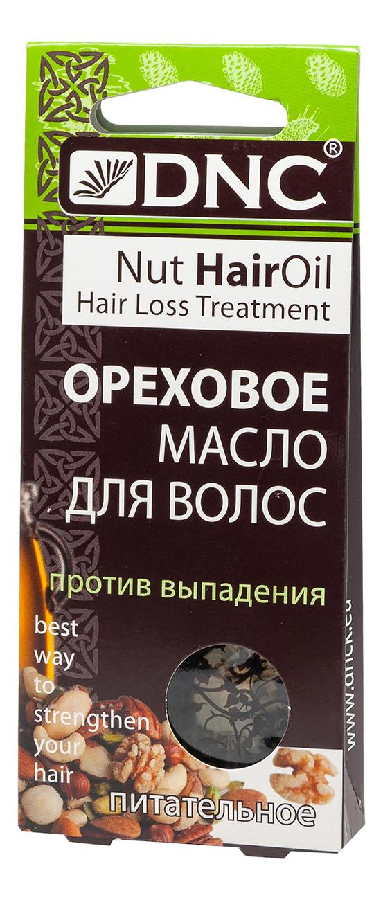 Питательное масло для волос против выпадения Ореховое 3*15мл недорого