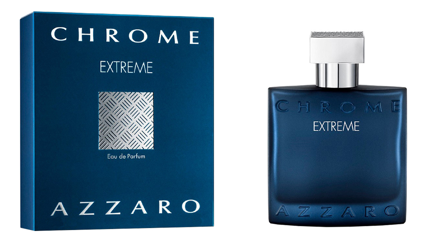 Azzaro Chrome Extreme: парфюмерная вода 100мл