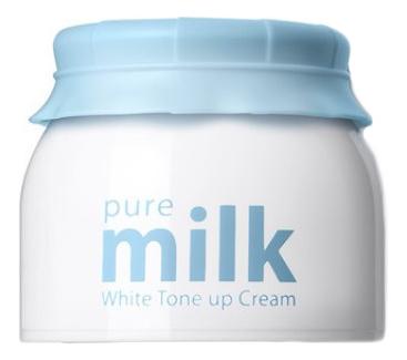 Осветляющий крем для лица Pure Milk White Tone Up Cream 50мл