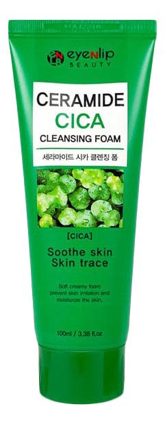 Пенка для умывания с экстрактом центеллы Ceramide Cica Cleansing Foam 100мл недорого