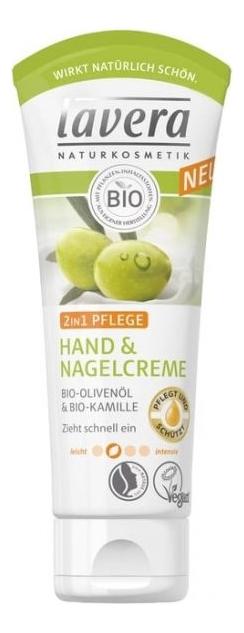 Купить Крем для рук и ногтей 2in1 Care Hand Cuticle Cream 75мл, Lavera
