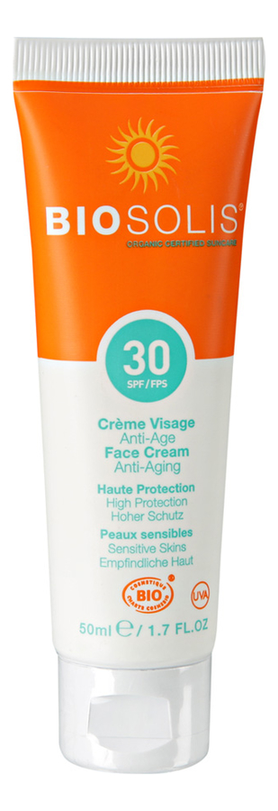 Солнцезащитный крем для лица Face Cream Anti-Aging SPF30 50мл