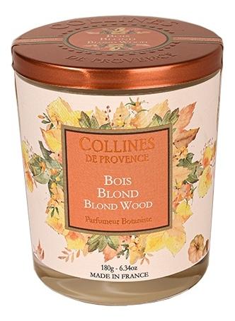 Купить Ароматическая свеча Blond Wood: Свеча 180г, Collines de Provence