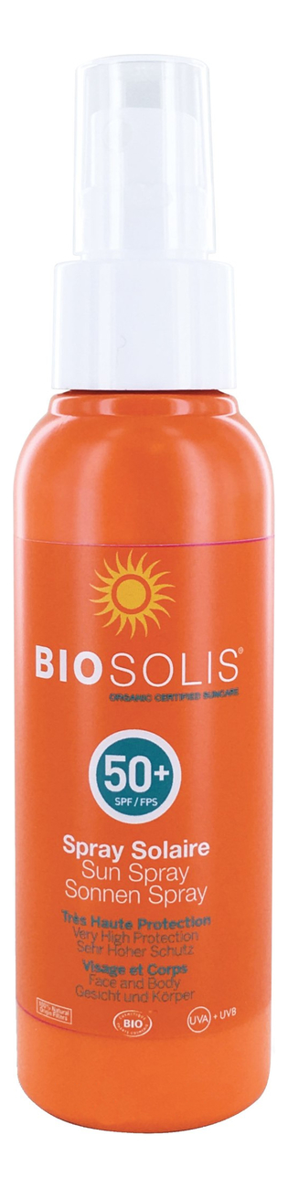 Солнцезащитный спрей для лица и тела Sun Spray SPF50+ 100мл солнцезащитный спрей для тела sport sunscreen spray unscented spf50 спрей 177мл