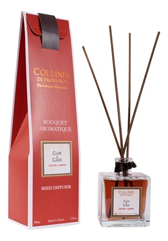 Купить Ароматический диффузор Accords Parfumes 100мл: Leather-Juniper, Collines de Provence