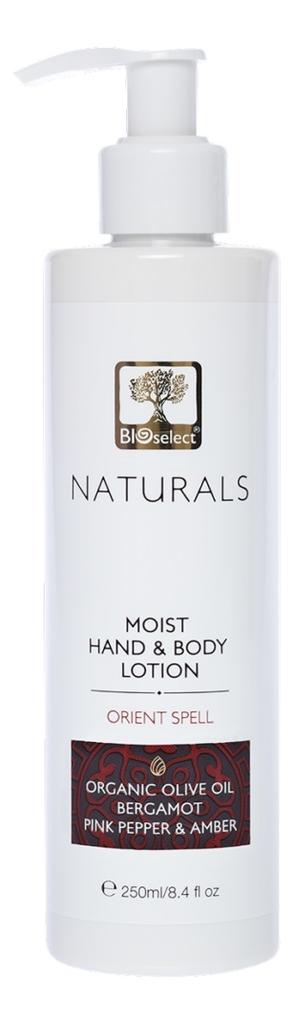 Купить Нежное молочко для рук и тела Naturals Moist Hand & Body Lotion Orient Spell 250мл, Нежное молочко для рук и тела Naturals Moist Hand & Body Lotion Orient Spell 250мл, BIOselect