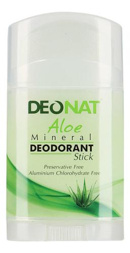 Дезодорант-кристалл с соком алоэ вера Aloe Mineral Deodorant Stick 100г: Плоский