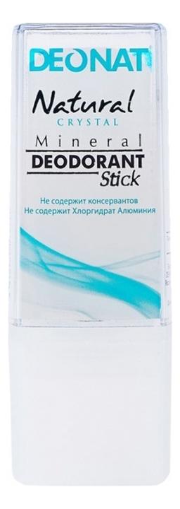 Дезодорант-кристалл Natural Crystal Mineral Deodorant Stick: Дезодорант 40г дезодорант кристалл laquale купить в москве