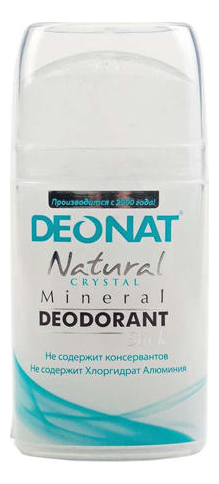 Дезодорант-кристалл Natural Crystal Mineral Deodorant Stick: Дезодорант 100г (овальный) дезодорант кристалл laquale купить в москве