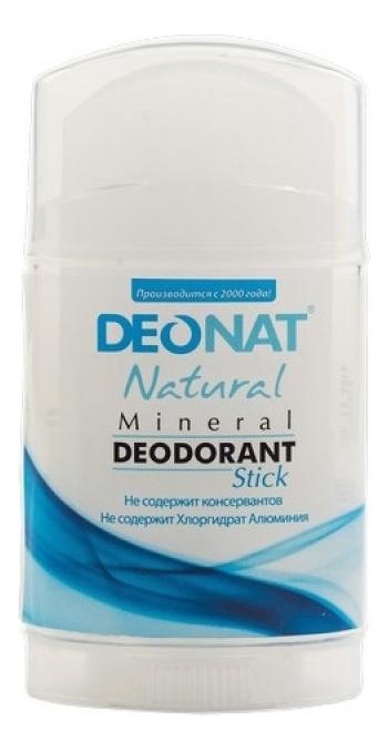 Дезодорант-кристалл Natural Mineral Deodorant Stick: Дезодорант 100г дезодорант кристалл laquale купить в москве