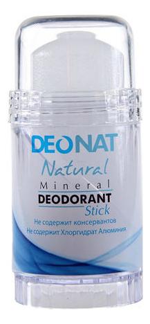 Дезодорант-кристалл Natural Mineral Deodorant Stick: Дезодорант 100г (овальный) дезодорант кристалл laquale купить в москве