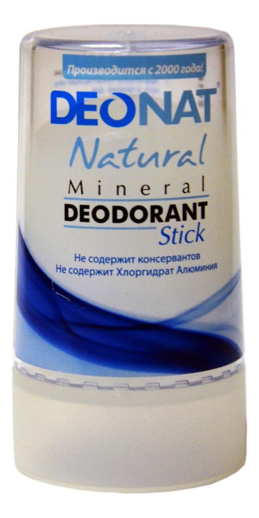 Купить Дезодорант-кристалл Natural Mineral Deodorant Stick: Дезодорант 40г, DEONAT