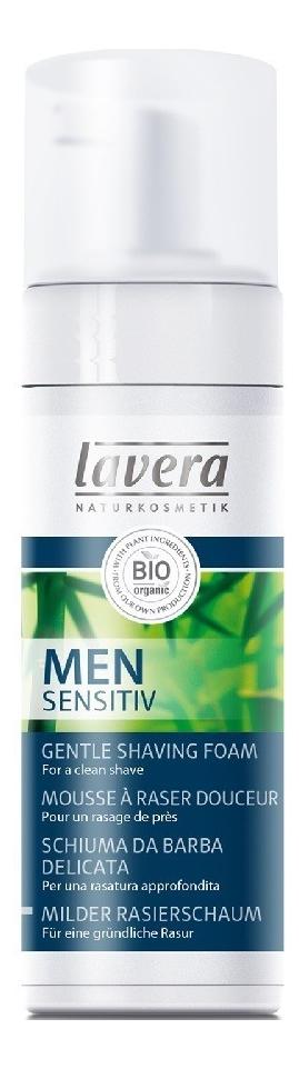 Пена для бритья Men Sensitive Organic Shaving Foam 150мл