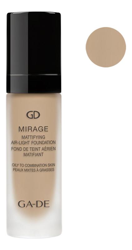 Легкая матирующая тональная основа Mirage Mattifying Air-Light Foundation 30мл: 127 Bare Cream, GA-DE  - Купить