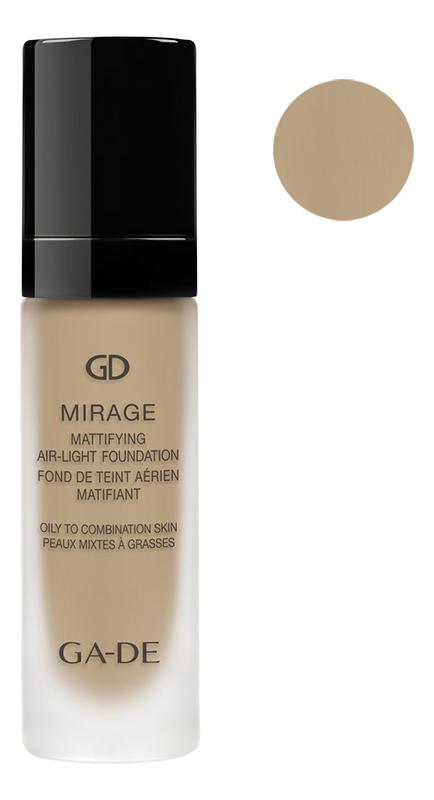 Купить Легкая матирующая тональная основа Mirage Mattifying Air-Light Foundation 30мл: 128 Bare Shell, GA-DE