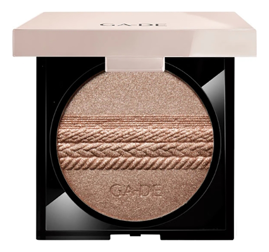 Пудра-хайлайтер Velveteen Highlighting Powder: 122 Gold Pearl