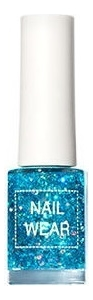 Купить Лак для ногтей Nail Wear 7мл: 104 Blue Wave, The Saem
