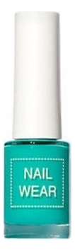 Фото - Лак для ногтей Nail Wear 7мл: 102 Aqua Mint лак для ногтей nail wear 7мл 73 blossom