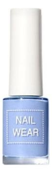 Лак для ногтей Nail Wear 7мл: 103 Blue Milk Tea essence the gel nail лак для ногтей серо синий тон 51 8 мл
