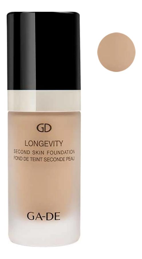Тональная основа Longevity Second Skin Foundation 30мл: 115 Nude Beige цена 2017