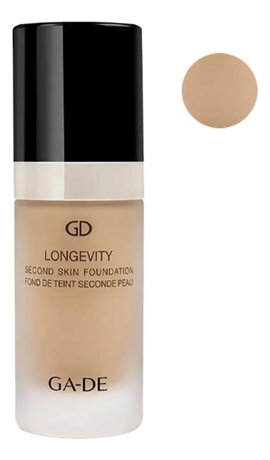 Купить Тональная основа Longevity Second Skin Foundation 30мл: 116 Pure Beige, GA-DE