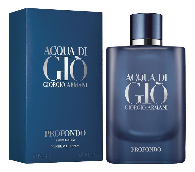 Купить Acqua Di Gio Profondo: парфюмерная вода 125мл, Giorgio Armani