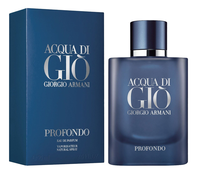 Купить Armani Acqua Di Gio Profondo: парфюмерная вода 75мл, Giorgio Armani