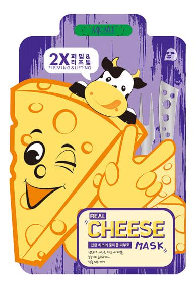 Тканевая маска для лица MJ Care Real Cheese Firming & Lifting Mask 25г