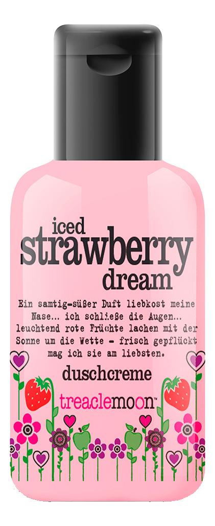 Гель для душа Клубничный смузи Iced Strawberry Dream Shower And Bath Gel: 60мл