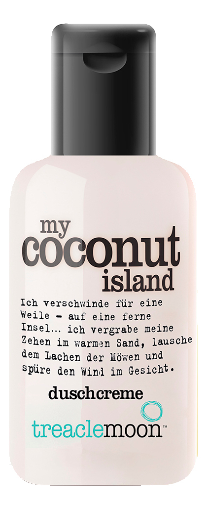 Купить Гель для душа Кокосовый Рай My Coconut Island Shower & Bath Gel: Гель 60мл, Гель для душа Кокосовый Рай My Coconut Island Shower & Bath Gel, Treaclemoon