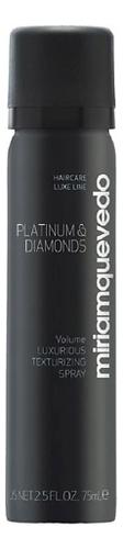 Фото - Бриллиантовый текстурирующий спрей-люкс для волос Platinum & Diamonds Volume Luxurious Texturizing Spray: Спрей 75мл спрей для укладки волос impermeable anti humidity spray спрей 75мл