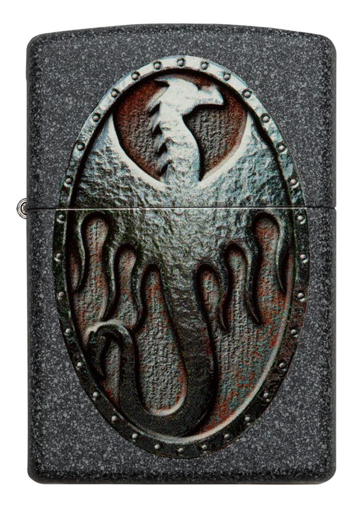 Зажигалка бензиновая Metal Dragon Shield Design 49072