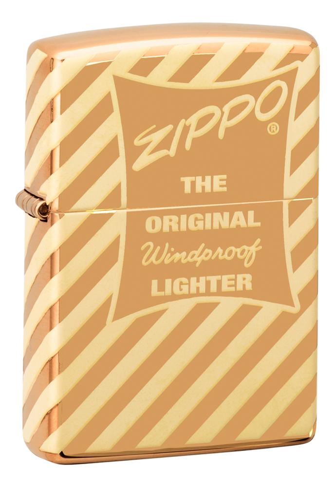 Зажигалка бензиновая Vintage Box Top 49075